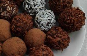 Šokoladiniai triufeliai sveikuoliams