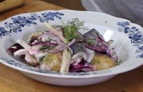 Bulvių salotos su silke