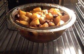 Bulvių ir vištienos apkepas