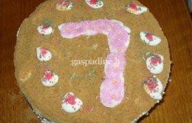 Renatos medaus tortas