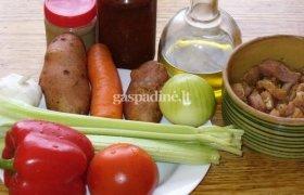 Daržovių ir kiaulienos troškinys