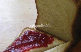 Pyragas, keptas duonkepėje