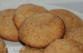 Cukriniai sausainiai su cinamonu