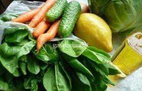 Gaivios špinatų salotos