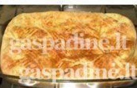 Parmentje bulvių su jaučio širdimi apkepas