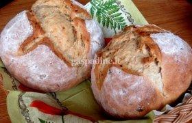 Duona su keptais svogūnais