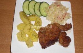 Natūralus kiaulienos muštinis (karbonadas)