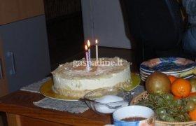 Mascarpone sūrio tortas