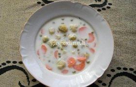 Pieniška briuselinių kopūstų sriuba