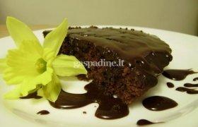 Kristinos šokoladinis pyragas