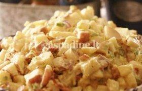 Airiškos bulvių salotos