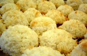 Sausainiai iš kokosų