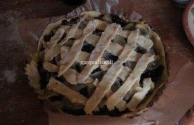 Salomėjos pyragas su cukinija ir mėlynėmis