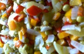 Žalių pomidorų salotos žiemai