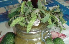 Pasakiška agurkų uogienė