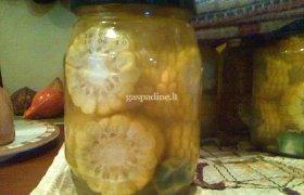 Marinuotos kukurūzų burbuolės