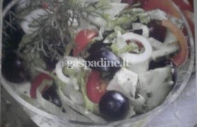 Salotos su vynuogėmis