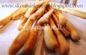 Grissini - Itališkos duonos lazdelės