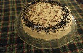 Tortas kavos, migdolų ir šokolado šėlsmas