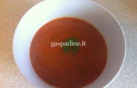Trinta troškintų daržovių sriuba