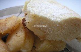 Martynos obuolių pyragas