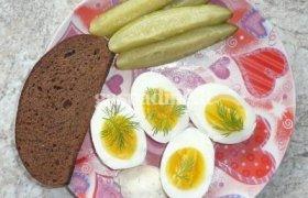 Virtų kiaušinių pusryčiai
