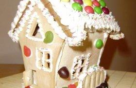 Imbierinis Kalėdų namelis