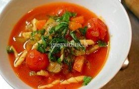 Pomidorų sriuba su vermišeliais