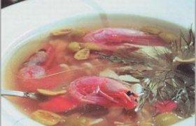 Tailandietiška sriuba su krevetėmis