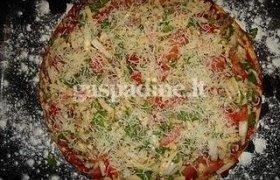 Mamos pica arba kai tingiu kepti picą
