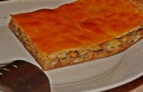 Pyragas su grybais ir sūriu
