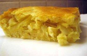Pyragas su bulvių koše ir vištiena