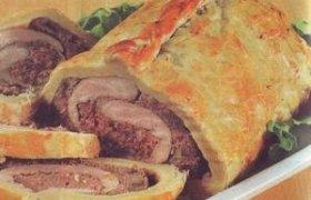Mėsos ruletas tešloje