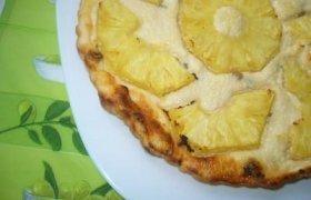 Varškės apkepas su ananasais