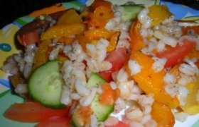 Perlinių kruopų salotos
