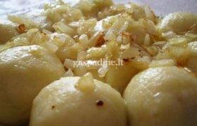 Virtų bulvių cepelinai