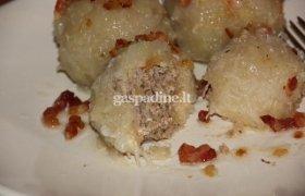 Cepelinai su mėsa