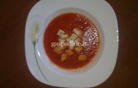 Skani paprikų sriuba