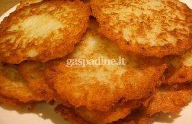 Tradiciniai bulviniai blynai