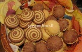 Saldūs sausainiai su kakava