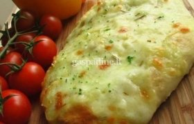 Duonelė su mocarela sūriu