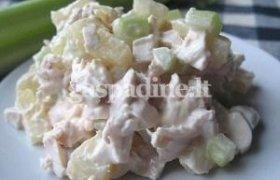Havajų salotos su ryžiais ir vištiena
