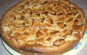 Paprastasis obuolių pyragas