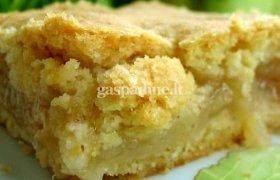 Dovilės obuolių pyragas