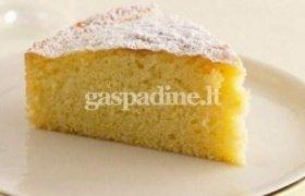 Citrininis kukurūzų miltų pyragas