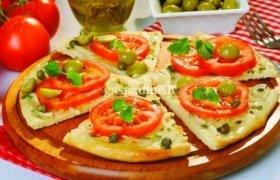 Daržovių pica su picų prieskoniais
