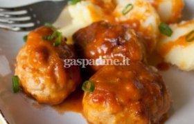 Kotletukai pomidorų pastos padaže