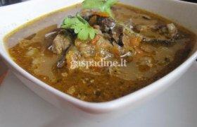 Vištienos ir grybų sriuba