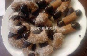 Sausainiai su nutella