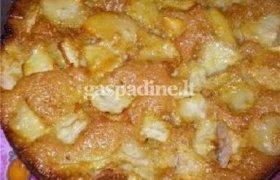 Greitas obuolių pyragas mikrobangų krosnelėje